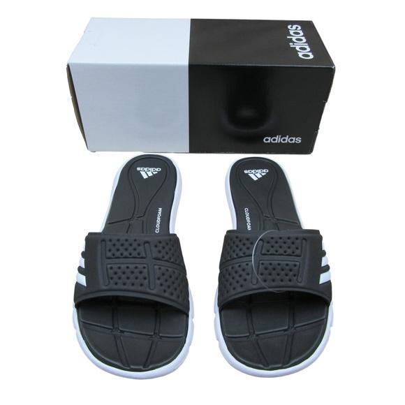 7d285b5fb99bda Adidas Adilette Adipure CF Slippers Sandals Size 9